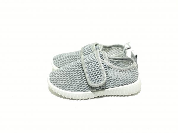 Легкие кроссовки сетка серые