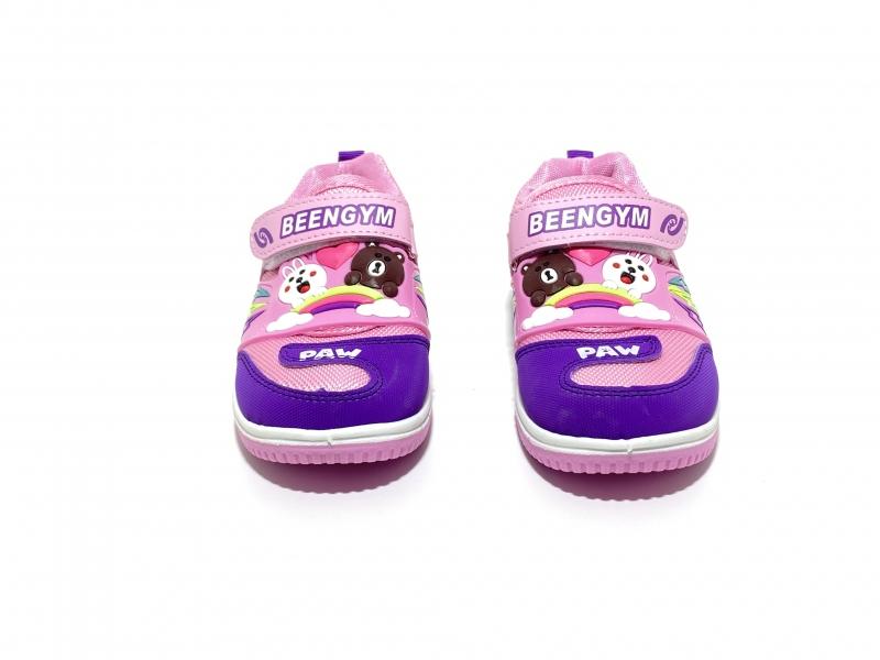 Кеды-ботинки с диодами Три настроения розовые