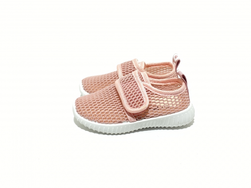 Легкие кроссовки сетка розовые