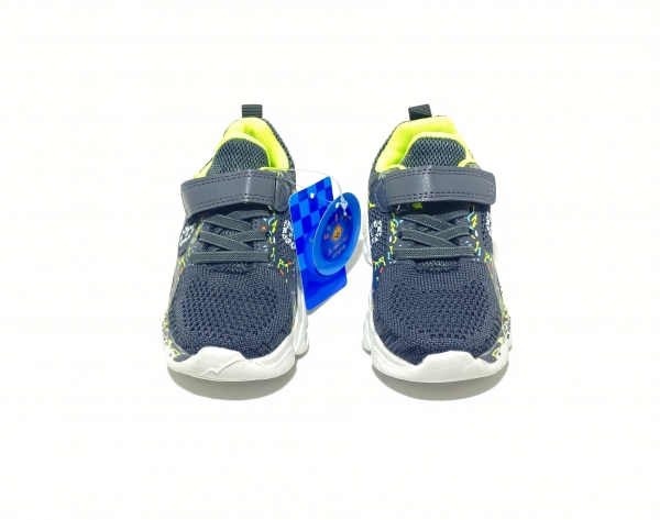 Кроссовки для мальчиков легкость серые