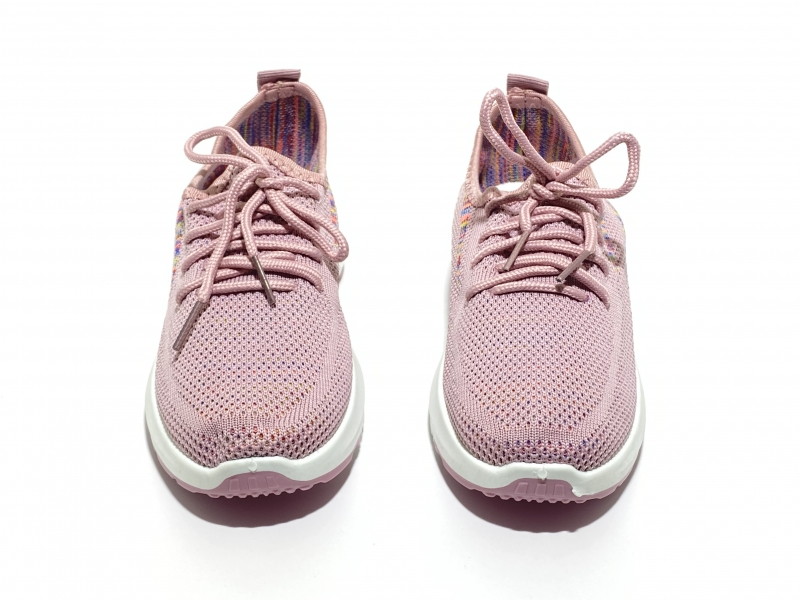 Дышащие кроссовки розовая сетка