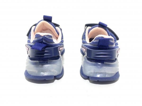 Кроссовки Fashion 7 светодиоды синие