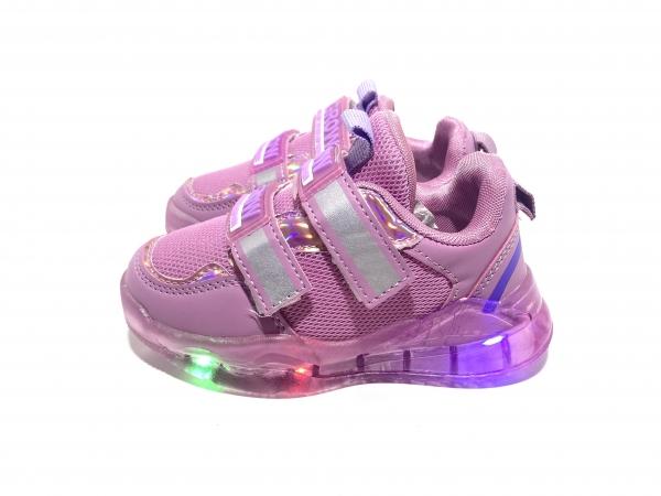 Кроссовки Grow светодиоды фиолетовые