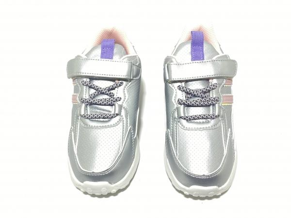 Кроссовки для девочек Stark 8 серебро