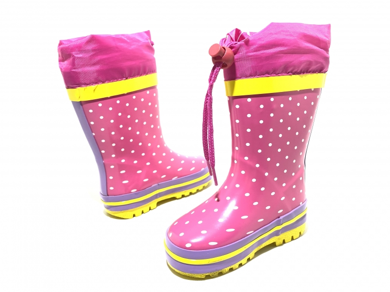Резиновые сапожки для девочек