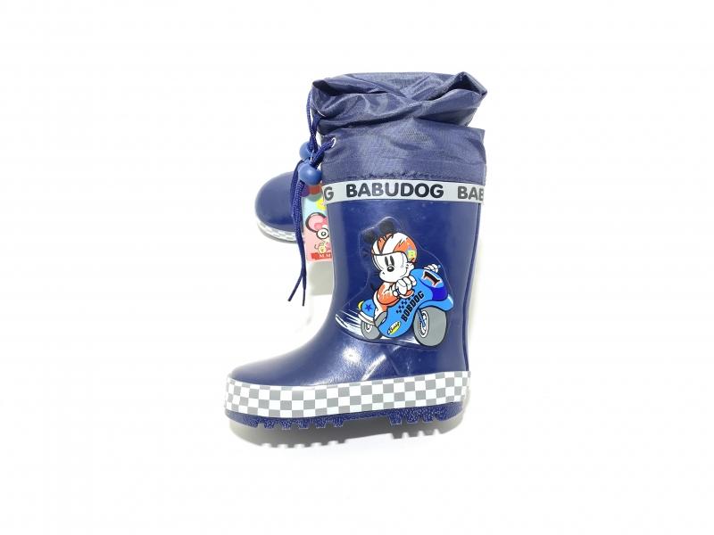Резиновые сапоги для мальчиков Babudog