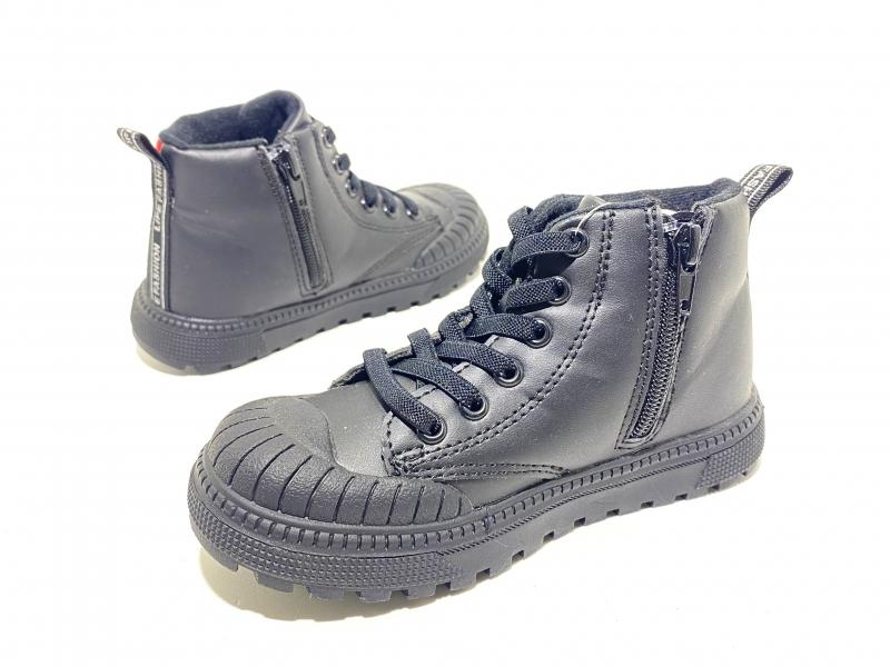 Ботинки детские Активный стиль черные