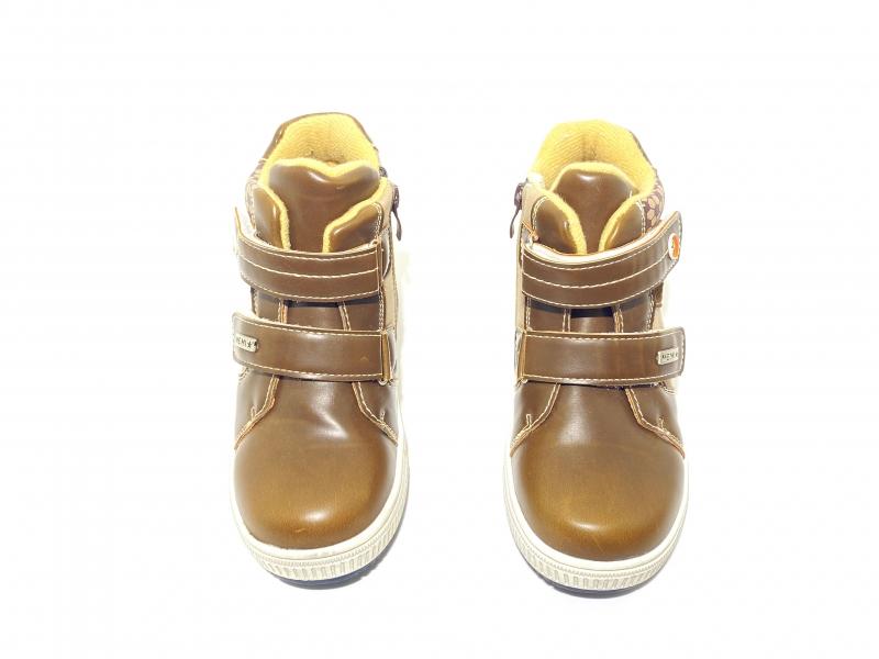Ботинки детские коричневые