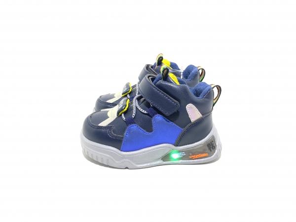Ботинки детские светодиодные Синее сияние