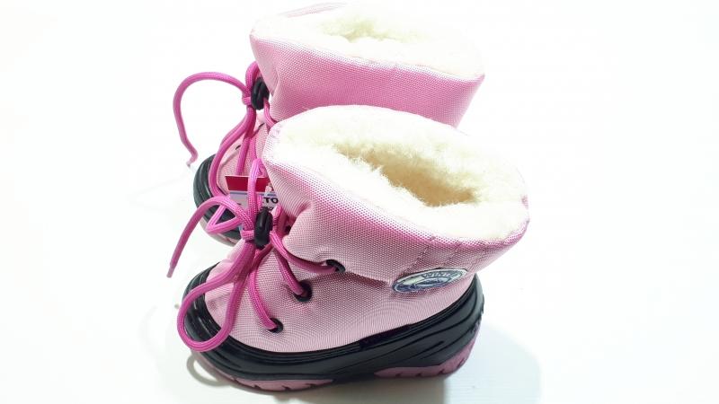 Сноубутсы для девочек Розовые снежки