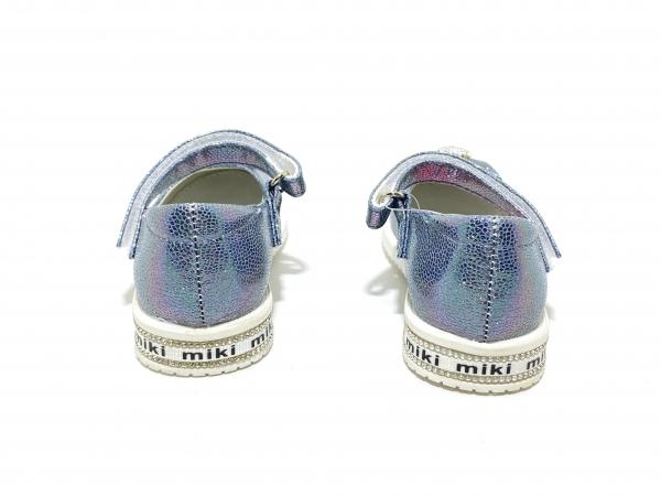 Туфли для девочек Miki синие