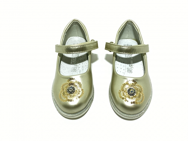 Туфли девичьи Розочки Miki