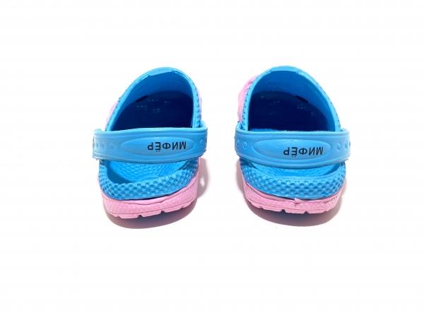 Детские Кроксы Мифёр Розово-синие