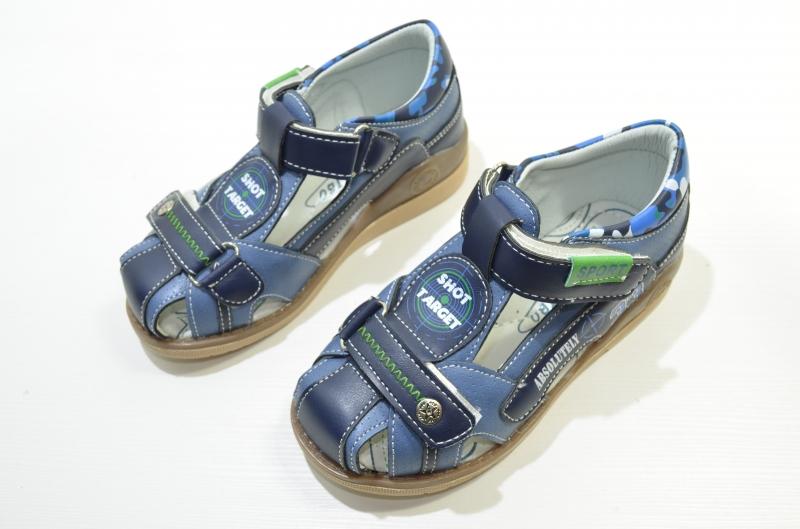 Детские Босоножки для мальчика Target синие