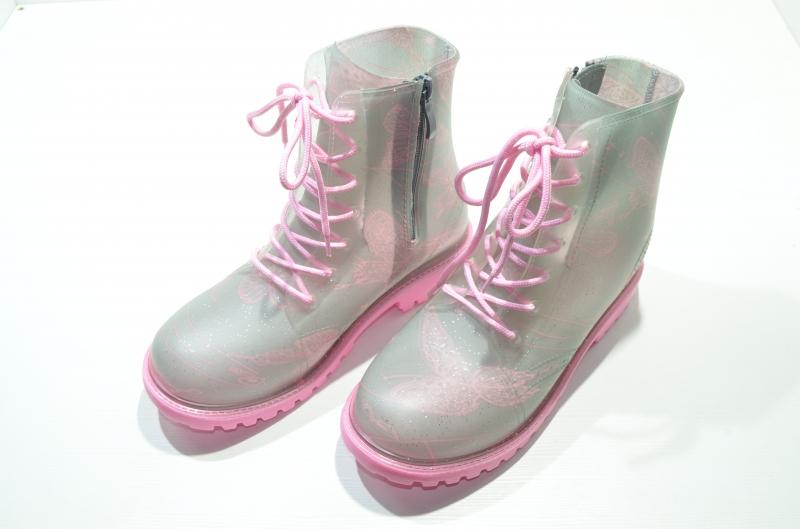 Резиновые ботинки для девочек Рентген