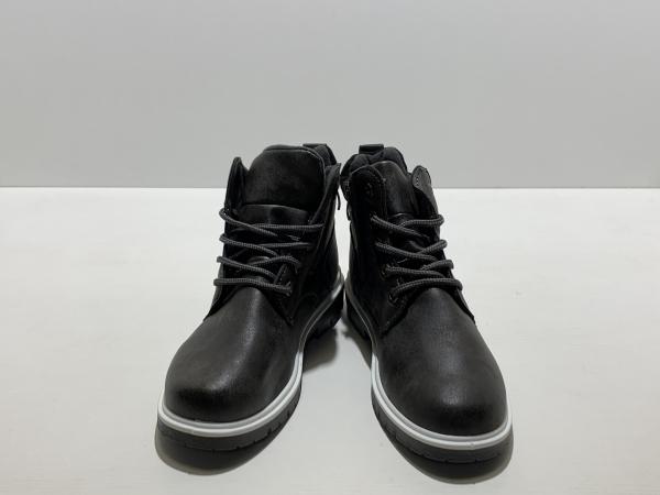 Осенне-весенние ботинки для мальчиков Дымчатая классика
