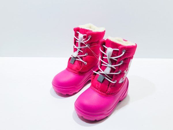 Зимние ботиночки для девочек Куколка
