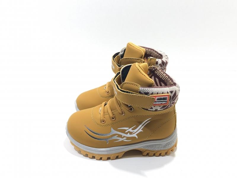 Зимние ботиночки для мальчиков и девочек Молния