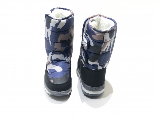 Зимние сапоги для детей Милитари