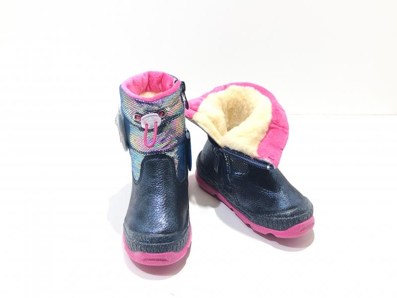 Зимние ботинки для девочек Минни-Маус розовые