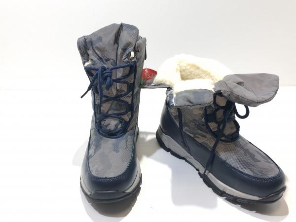 Зимние сапоги для детей Камуфляжные Отражатели