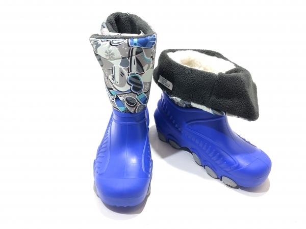 Детские зимние ботинки Лыжники