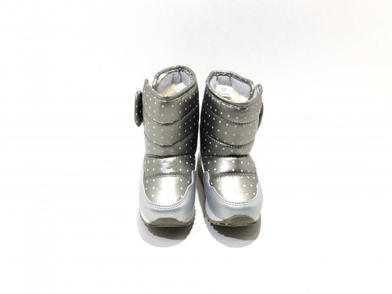 Зимние ботиночки для девочек Бронзовая ветрянка