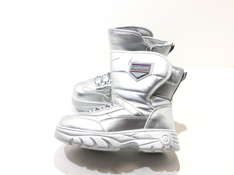 Зимние ботиночки для детей Сталь