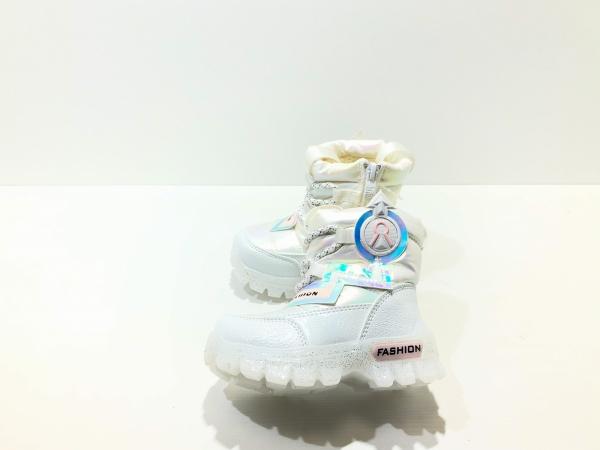 Зимние утепленные ботинки для детей Fashion Диоды (белый)
