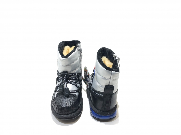 Зимние утепленные ботинки для детей Fashion Moscow