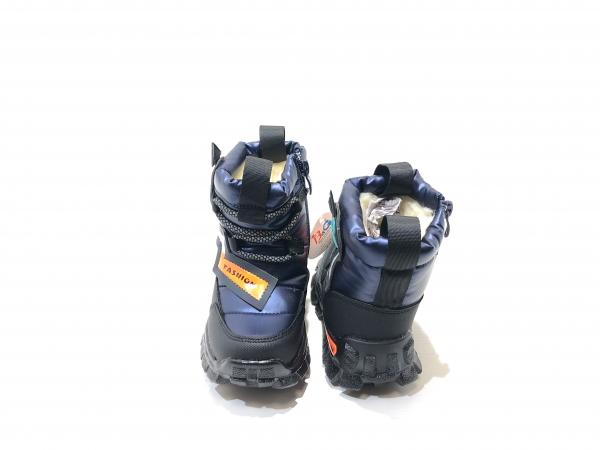 Зимние утепленные ботинки для детей Fashion (синий)
