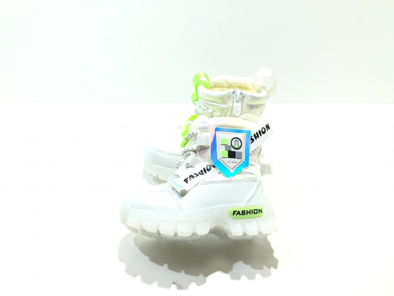 Зимние утепленные ботинки для детей Fashion Диоды (жемчужный)