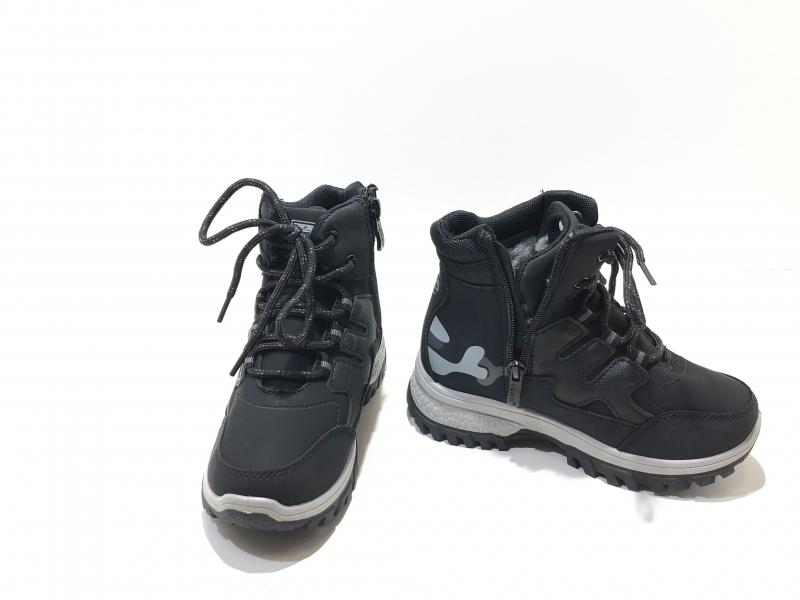 Зимние детские утепленные кроссовки Sport Черные