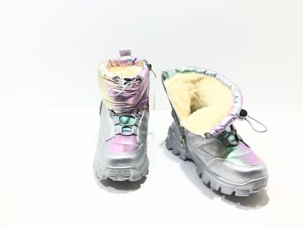 Зимние утепленные ботинки для детей Fashion Разноцветные