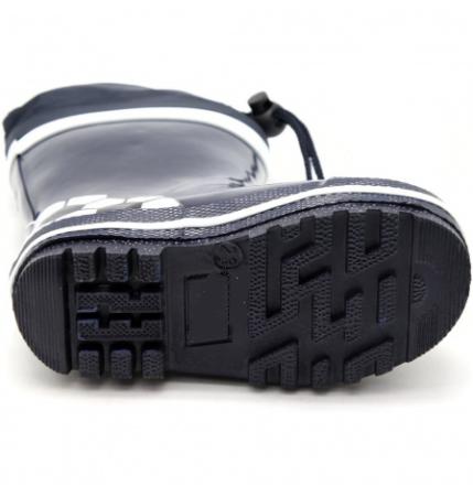 Резиновые сапоги для мальчиков черные