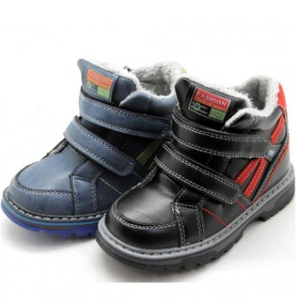 Ботинки двойная липучка Fashion