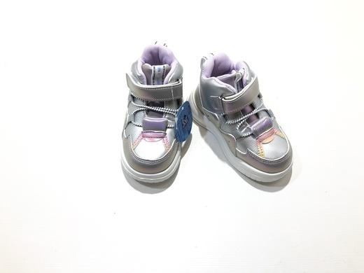 Ботинки детские светодиодные Серебряное сияние