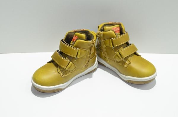 Ботинки утеплённые Чиполлино Горчичные