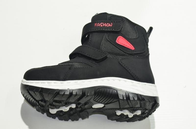Ботинки зимние высокие FASHION чёрные