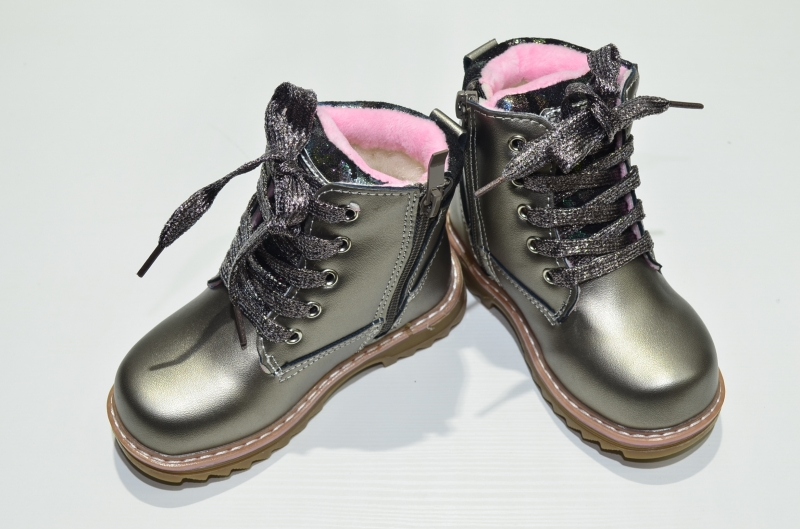 Ботинки Счастливчики Зимние Бронза