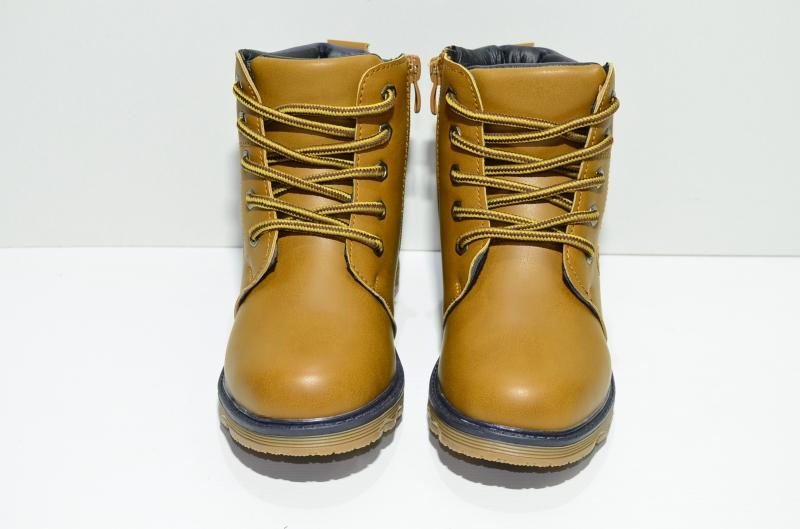 Ботинки зимние горчичные ВВХ