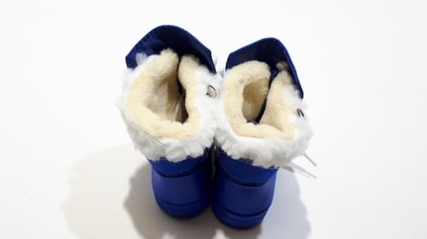 Детские сноубутсы малыши-топтыши Синие