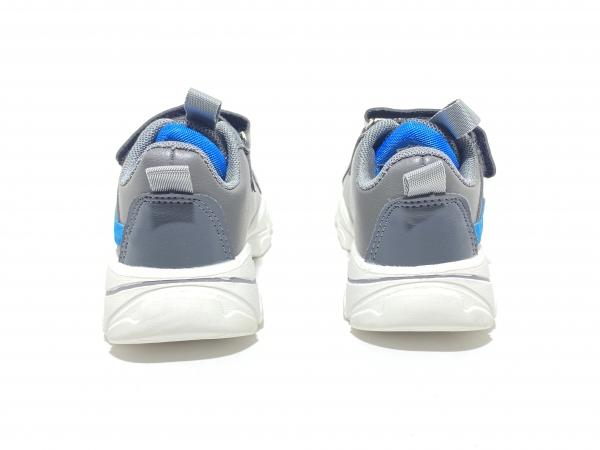 Детские кроссовки серые