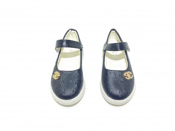 Туфли для девочек черные