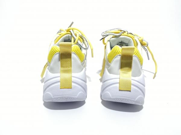 Кроссовки желтое настроение