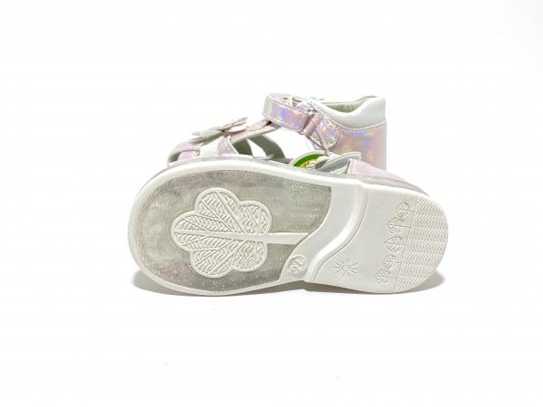Детские сандали с диодами Розовая ромашка