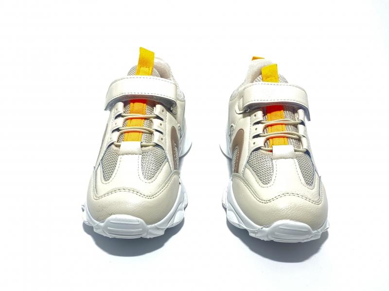 Кроссовки оранжевая полоска