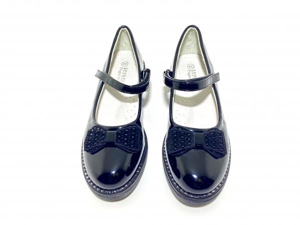 Туфли для девочек Глубокий чёрный