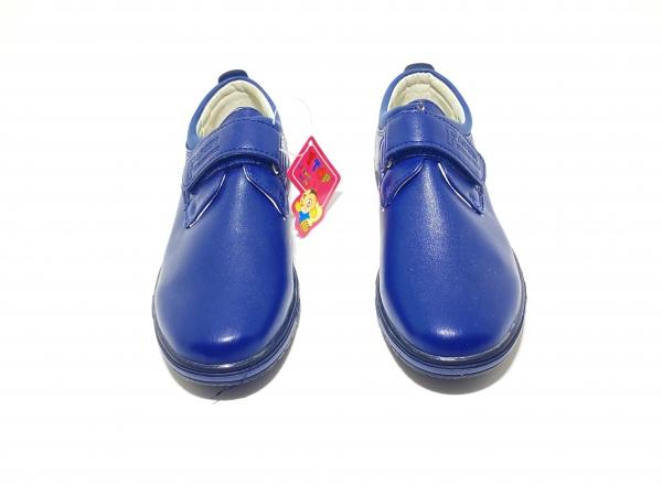Туфли пряжка для мальчиков на липучке