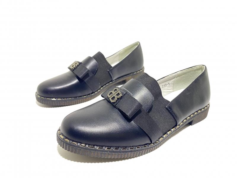 Туфли для девочек Школьная классика чёрные